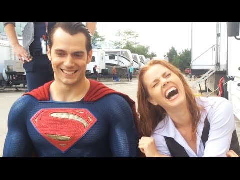 Henry Cavill Wears Superman Suit For ALS Ice Bucket Challenge