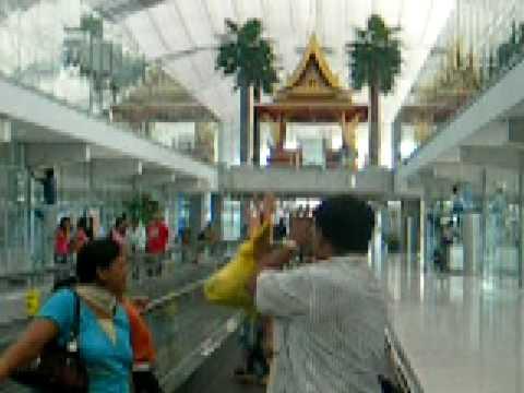 Goyal family at Bangkok Airport