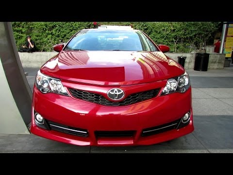 2014 Toyota Camry SE - Exterior and Interior Walkaround - 2013 LA Live