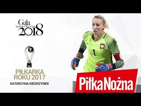 Gala Tygodnika Piłka Nożna. Katarzyna Kiedrzynek - Piłkarka Roku 2017