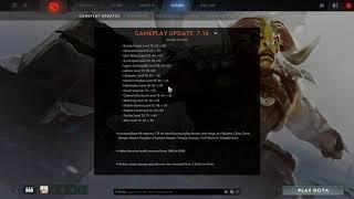 Dota 2 Gameplay Update 7.16 Patch Analysis