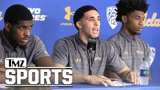 LiAngelo Ball Confesses to Stealing, Thanks President Trump | TMZ Sports