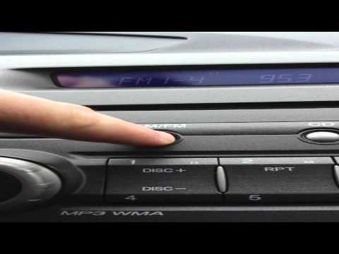 2006-2011 Honda Civic: How-To Adjust The Clock