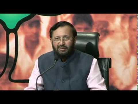 BJP Press by Shri Prakash Javadekar on reforms in banking & Ceasefire violation.