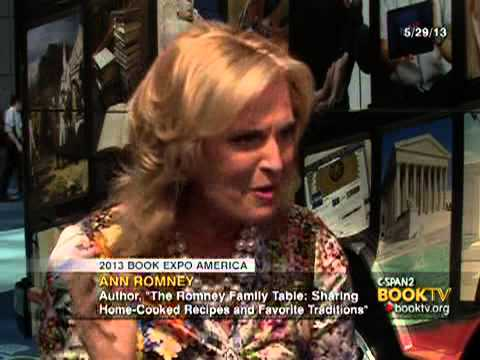 Book TV 2013 Book Expo America: Ann Romney,