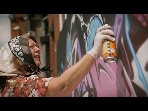 Graffiti Granny VS Buggsy Ft. Sokem One