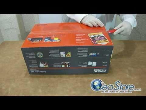 CeaStore Lab Unboxing Impresora Inyección de Tinta Color Epson Stylus T22