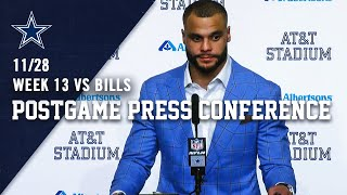 "Dak Prescott Postgame Press Conference: ""No Belief Has Been Lost"" 