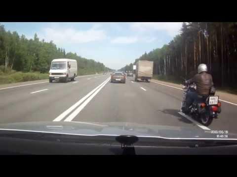 Авария на Минском шоссе 19 мая 2013
