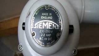 VINTAGE WORKING SIEMENS HAIRDRYER.