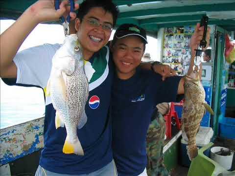Singapore Fishing Changi Offshore Fishing Montage Part 1