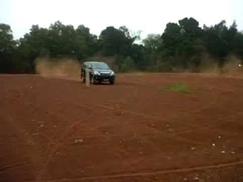 Avanza Drifting in sand First experiment