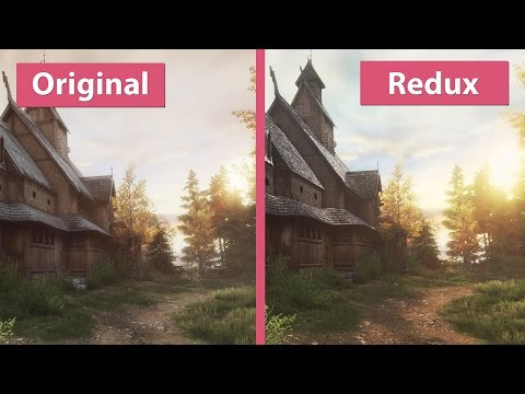 The Vanishing of Ethan Carter – PC Original vs. Redux – Unreal Engine 3 vs. 4 Graphics Comparison