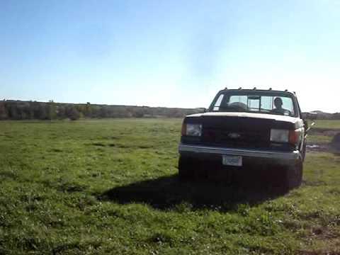 1987 Ford F250 6.9 Diesel 4X4