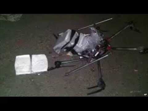 Drone carrying drugs crashes south of U S  border : 24/7 News Online