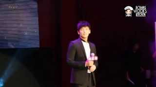 [Fancam] 20140830 지창욱 대만 팬미팅 (Ji Chang Wook Taiwan Fan Meeting) - 나비에게 (To The Butterfly)
