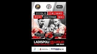 Titolo Italiano Massimi - D'Ortenzi vs Romano