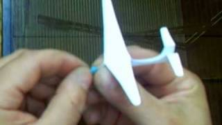 The World's Smallest Flying Glider- How To