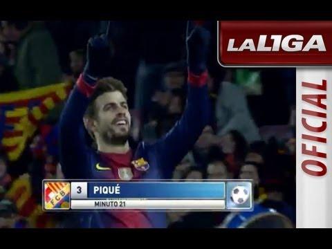 La Liga | FC Barcelona - Athletic Club (5-1)  | 01-12-2012 | J14 | Resumen