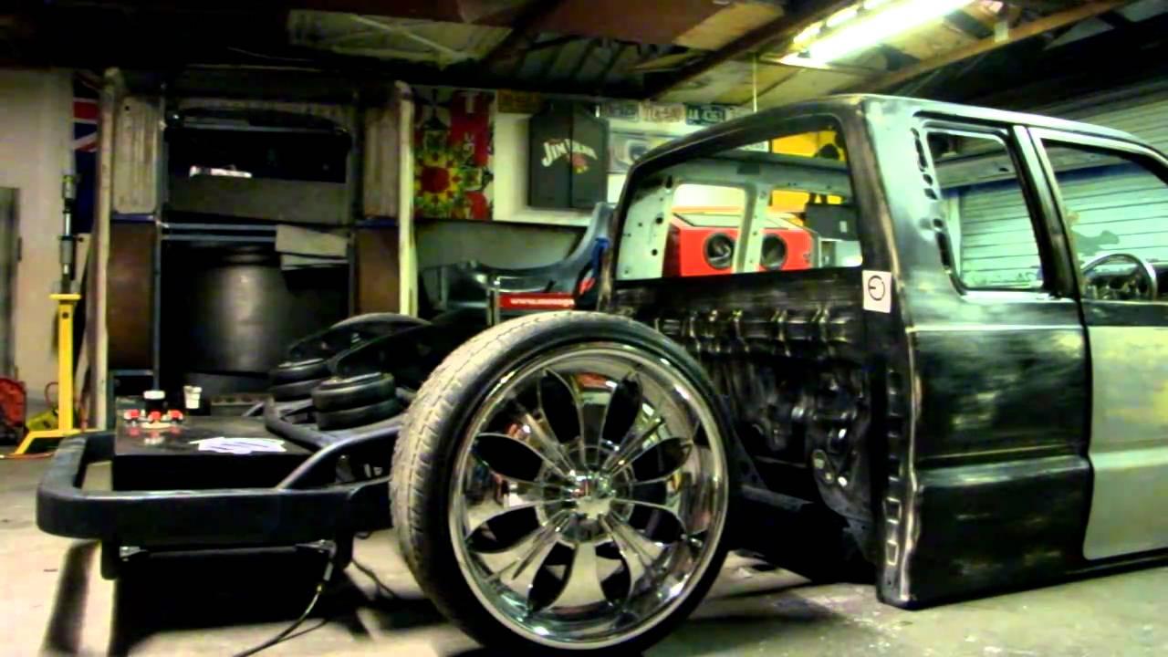 cki mazda b2200 bellcrank canti airbag set up youtube