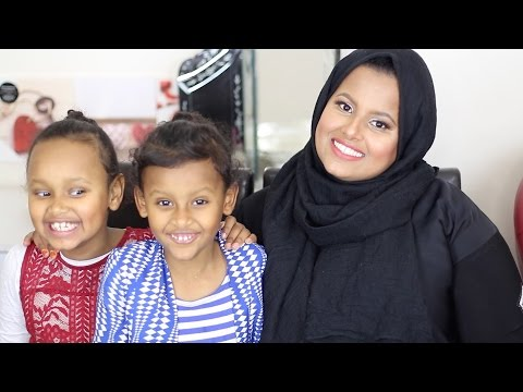 SOMALI CHALLENGE KIDS EDITION, with my babies | ikhisbeauty thumbnail