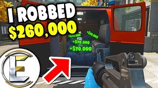 I Robbed $260,000 Doing Nothing - Payday 2 EP1 (Joining A Random Game Made Me Lots Of Money)