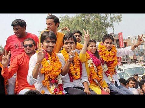 ABVP swept Delhi University Students' Union elections