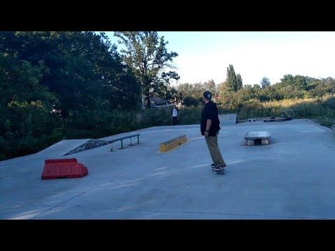 Znalazłem Ukryty Skatepark We WROCŁAWIU