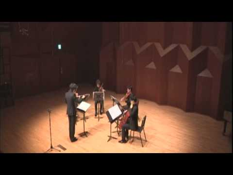 "유병은 (Byung-Eun Yoo) - ""String Pungmul"" for String Quartet"