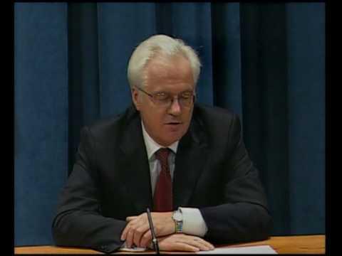 MaximsNewsNetwork: RUSSIAN Amb. VITALY CHURKIN, PRESIDENT U.N. S-C (UNTV)