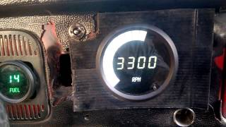 Intellitronix rpm Digital VW bug beetle fusca Conta giro escarabajo