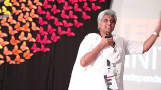 TEDX GNITS Talk by Ms. G. Arundathi.  Experience is My Biggest Teacher.