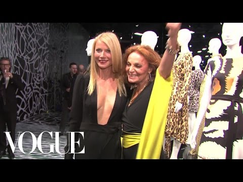 Diane von furstenberg opening at lacma - ep1 of 3 - inside vogue