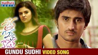 Prema Ishq Kaadhal Telugu Movie Songs   Gundu Sudhi Video Song   Harshvardhan Rane   Ritu Varma