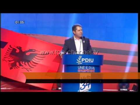 PDIU çel fushatën elektorale - Top Channel Albania - News - Lajme