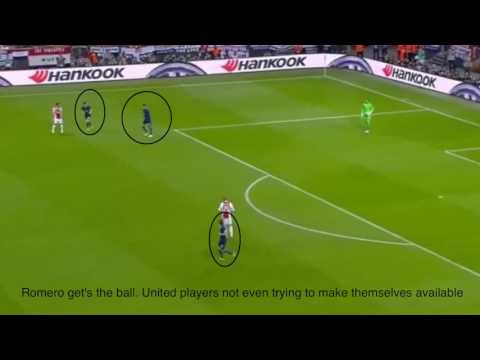 Mourinho's tactical masterclass. Tactical analysis of Ajax-Manchester United