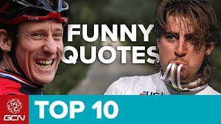Top 10 Funniest Cycling Quotes