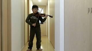 J.S.Bach - Violin Concerto in A minor - 1.Allegro moderato (Suzuki Violin 7-4)