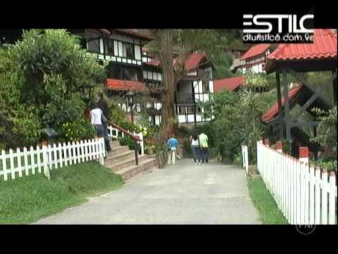 1/3 Estilo Turístico Colonia Tovar: Hotel Selva Negra