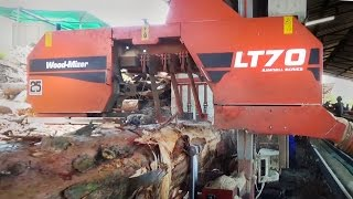 LT70 Remote Sawmill in action in South Africa - Wood-Mizer Sawmills