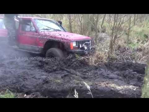 Zachodniopomorski Off Road 4X4 Szczecińska Drużyna Przeprawowa Warn Winch Recovery And Mudding