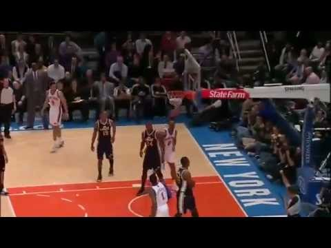 Carmelo Anthony and Amare Stoudemire 65 pts VS Jazz 3/7/11