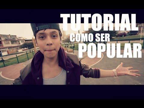 TUTORIAL COMO SER POPULAR MARIO RUIZ
