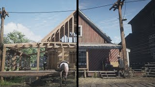 Red Dead Redemption 2 Changes Over Time.