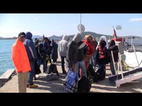 Turkey captures 44 illegal immigrants in Aegean Sea
