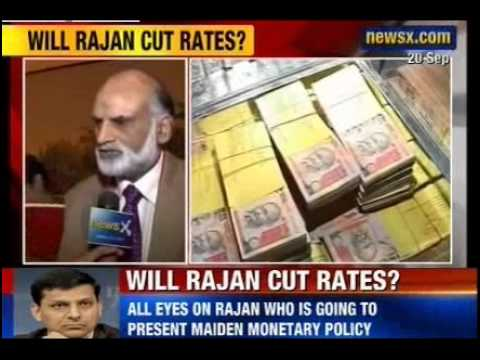 NewsX: Inflation Remains A Concern - RBI Governor Raghuram Rajan presents his maiden credit policy