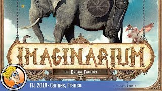 Imaginarium — game preview at FIJ 2018 in Cannes