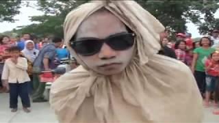 Atraksi Pocong (odong-odong Rewok Karawang)