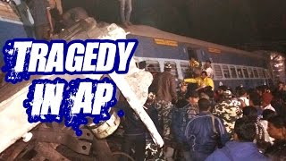 Massive Train Accident at Midnight in AP l Hirakhand Express  l Express TV