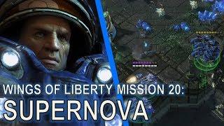 Starcraft II: Wings of Liberty Mission 20 - Supernova [Speedrun]